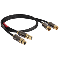 Goldkabel XLR STEREO MKII Black Edition