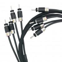 VOVOX excelsus drive Hi-Fi-Lautsprecherkabel Stereo-Paar, Bananenstecker, 150 cm