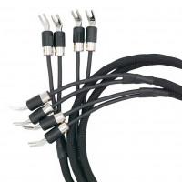 VOVOX excelsus drive Hi-Fi-Lautsprecherkabel Stereo-Paar, Kabelschuhe,