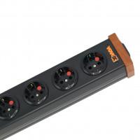 VOVOX excelsus power distribution Steckerleiste 6 x SchuKo