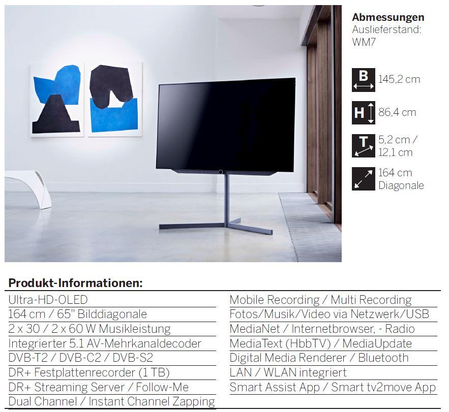 loewe bild graphitgrau kaufen mit online shop. Black Bedroom Furniture Sets. Home Design Ideas